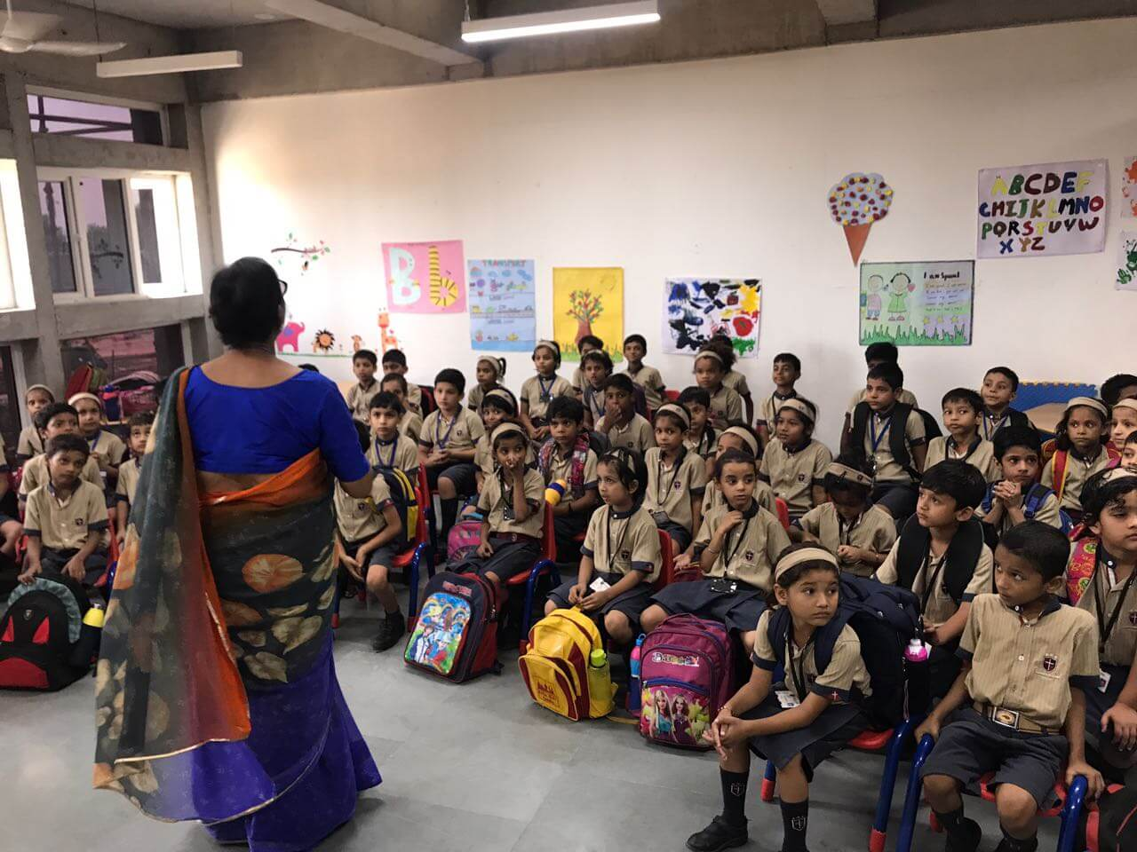 Child Sensitization- SMILE FOUNDATION- Ms Pooja / Ms Paul
