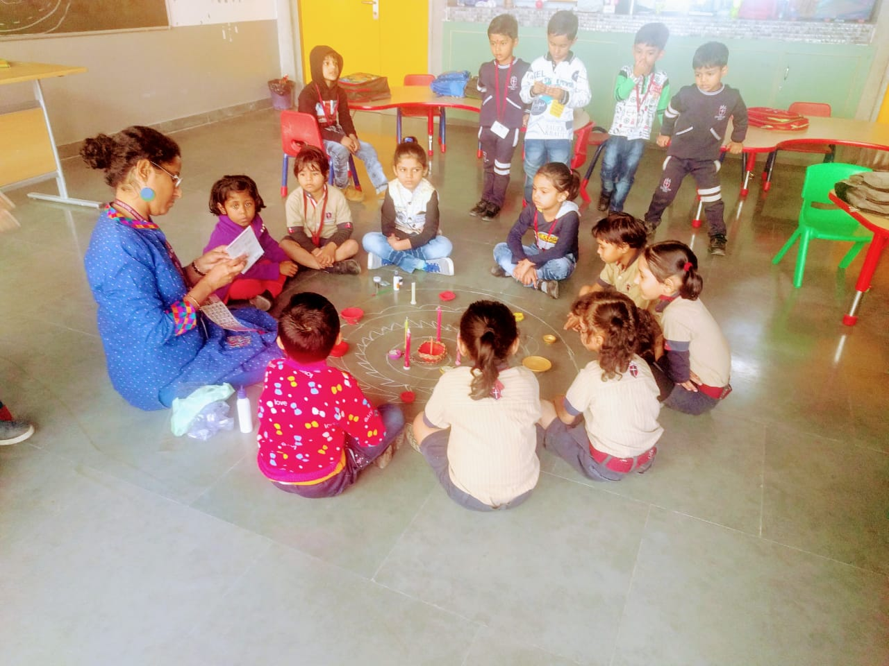 Diya Making Activity